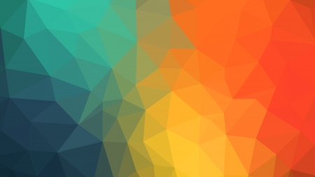 Colorful Triangles - shapes, colorful, triangles, abstract