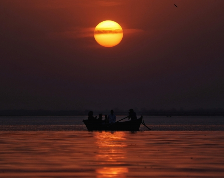 a beautiful sunset at the city bhopal clicked on canon 200d - india, bhopal, sunseet, landscape