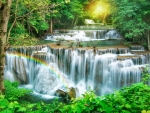 Waterfall scenery