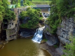 Triphammer Falls in New York