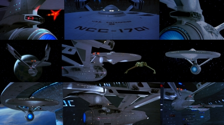 Starship Enterprise - Starship Enterprise, Star Trek, The Search for Spock, spaceship