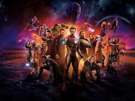 Avengers Infinity War - superheroes, movie, avengers, entertainment, comics