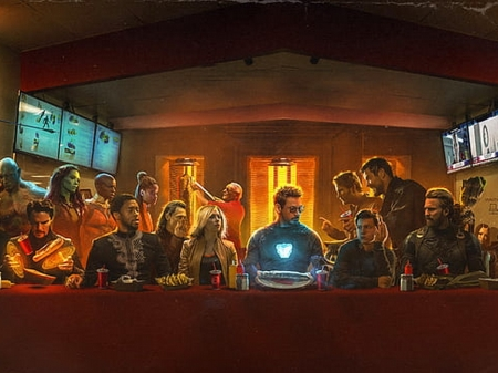 Avengers Meeting - comics, superheroes, avengers, movie, entertainment