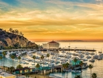 Crescent Beach On Catalina Island, California