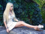 Valeria Lukyanova Barbie Doll look