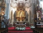 Church Altar in Poland