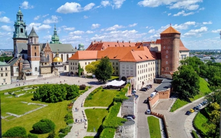 Wawel Castle, Krakow, Poland - Wawel, Krakow, Poland, castle, royal