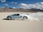 Bugatti Racing Across the Desert