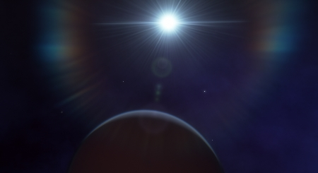 Alien Sky - Planet, Space Engine, Star, Space
