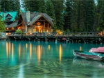 Emerald Lake, Yoho National Park, B.C., Canada