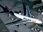 Atlas Air 747F at Miami International Airport