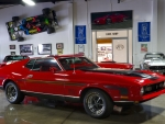 Red Mach I Muscle Car