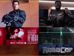 Terminator and Robocop