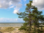Beach in Latvia