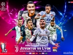 JUVENTUS - LYON CHAMPIONS LEAGUE