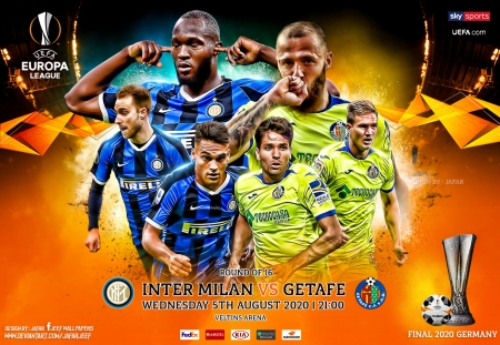 INTER MILAN - GETAFE EUROPA LEAGUEI - inter milan, inter, Europa League wallpaper, football, INTER MILan wallpaper, europa league