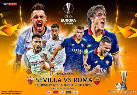 SEVILLA - AS ROMA EUROPA LEAGUE WALLPAPER - as roma, wallpaper, Europa League wallpaper, europa league, sevilla, as roma wallpaper, Europa League final, soccer, poster, sevilla wallpaper