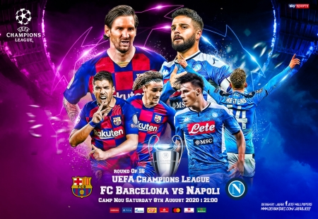 Fc Barcelona Napoli Champions League Wallpaper Soccer Sports Background Wallpapers On Desktop Nexus Image 2566606