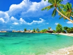 Awesome tropical beach