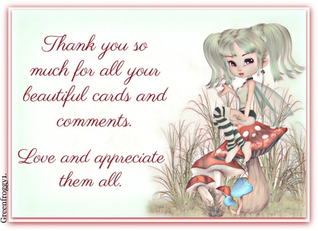 THANK YOU - COMMENT, YOU, CARD, THANK