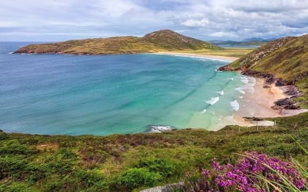 Beach in Ireland - beach, Ireland, ocean, peninsula, coast