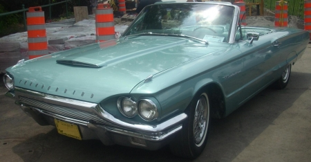 1964 Ford Thunderbird...'Thelma and Louise' - movie, guitar, car, ford, music, louise, thunderbird, Thelma, classic