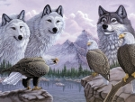 Wolves and Eagles