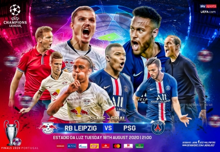 RB LIPZIG - PARIS SAINT GERMIAN - neymar, champions league, RB LIPZIG, PARIS SAINT GERMIAN, PARIS SAINT GERMIAN wallpaper, mbappe, soccer, champions league wallpaper, paris, psg, Neymar wallpaper