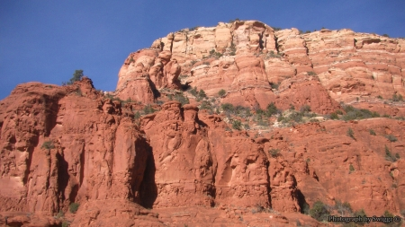 Sedona, Arizona - Landscape, Mountains, Sky, Sedona, Arizona, Rocks, Nature
