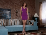 Riley Reid in stunning short dress