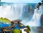 IGUAZU  Waterfalls..Brazil..