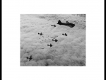 B-17 Formation Over Germany (WW II )
