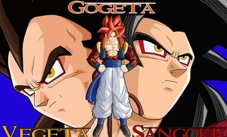 Ssj4 Gokussj4 Vegetaand Ssj4 Gogeta Dragonball Anime
