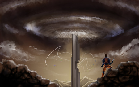 half life 2 episodie 2  - artwork, half-life 2, game half-life 3