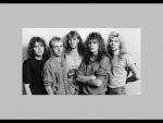 Def Leppard as they appeared 1987