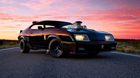 Interceptor Falcon V8 - Interceptor, V8, Ford, Falcon, Mad Max