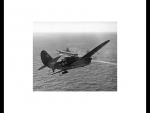 Curtiss Helldiver Returning To Her Aircraft Carrier