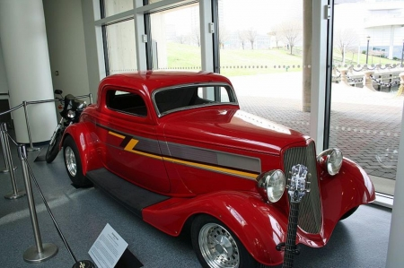 1934 3 Window Coupe..ZZ Top..Eliminator - Hotrod, bands, models, car, music, beautiful, classic