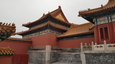 The Forbidden City, Beijing, China - Beijing, Forbidden, China, City, Clouds