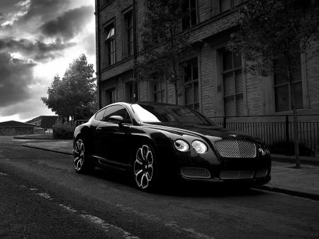 Bentley GTS - Black, GTS, Project Kahn, Bently, Gothic
