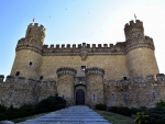 Castillo de Manzanares el Real Madrid, Spain