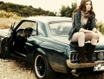 Mustang Sally and her '67 Mustang