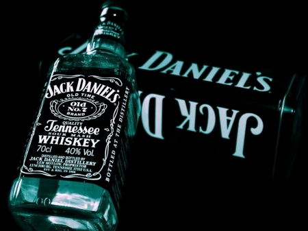 JD Whiskey - drink, whiskey, JD, bottle