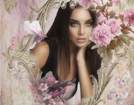 Beauty in Pink - Women Are Special, Etheral Women, Awesome Pink World, facing beauty, Female Trendsetters