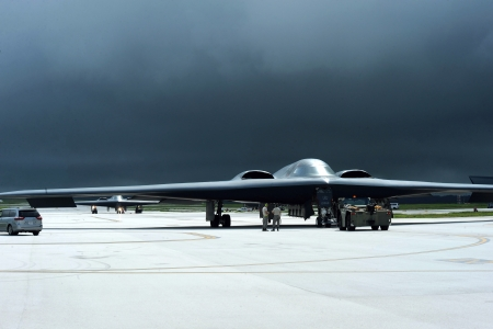 Northrop Grumman B-2 Stealth Spirit - military, stealth, aircraft, usa