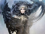 Fantasy girl by Karol Bak