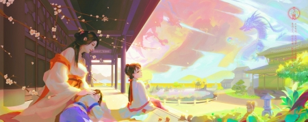 Nap time - frumusete, sleep, luminos, yellow, a mai, superb, fantasy, girl, anai, amai, ping an, pink, gorgeous