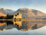 Kilchum Castle, Loch Awe, Scotland