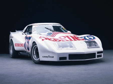 1974 greenwood chevrolet corvette - race, corvette, greenwood, chevrolet, car