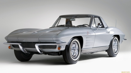 1963 chevrolet corvette stingray - stingray, corvette, car, chevrolet